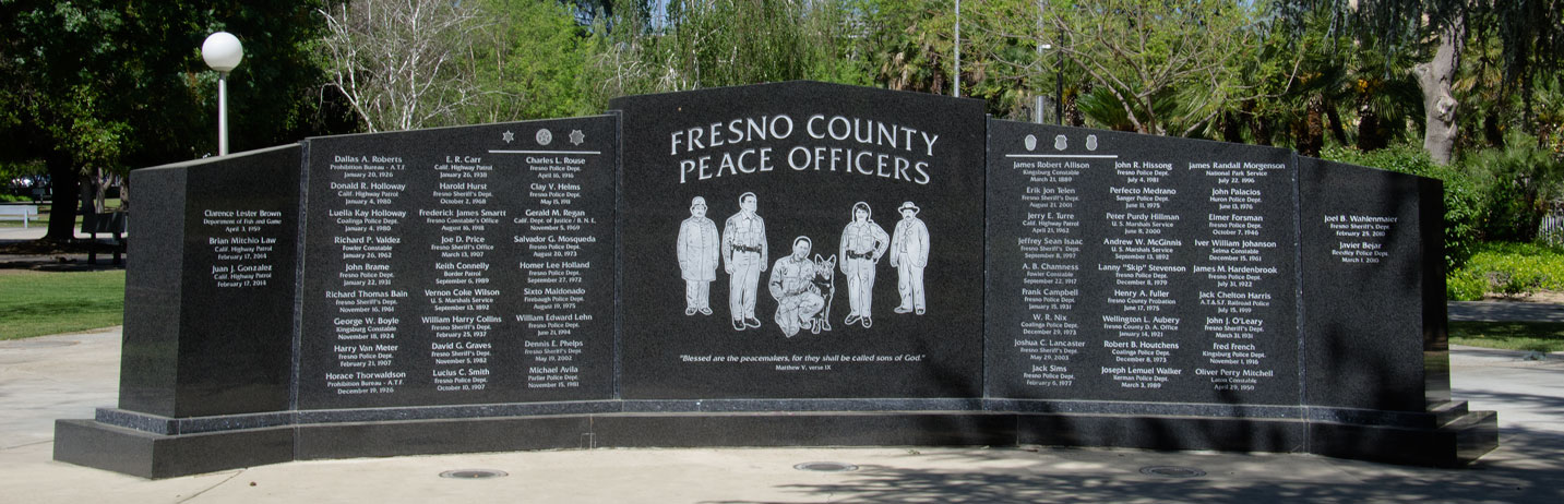 Fresno County Peace Officers Memorial